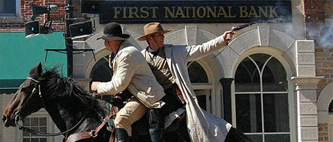 Jesse James Reenaction