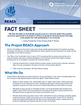 Project REACh Fact Sheet