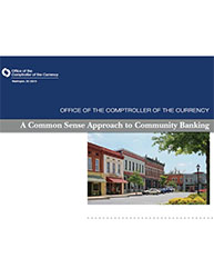 Common Sense Approach to Community Banking Cover Image