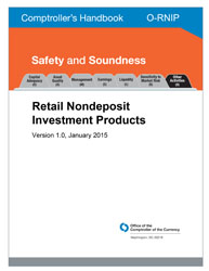 Comptroller's Handbook: Retail Nondeposit Investment Products Cover Image