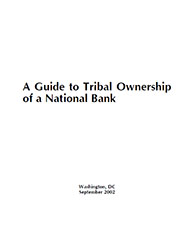 A Guide to Tribal Ownership of a National Bank Cover Image