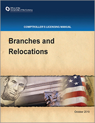 Licensing Manual - Branches and Relocations Cover Image