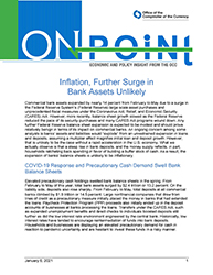 On Point Cover Image: Inflation, Further Surge in Bank Assets Unlikely
