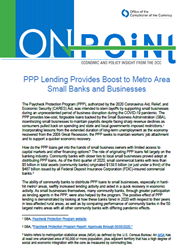 PPP Lending Provides Boost to Metro Area Small Banks and Businesses