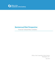 Semiannual Risk Perspective, Fall 2014 Cover Image
