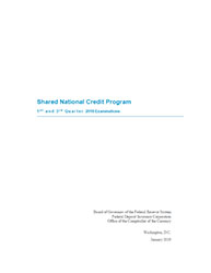 Shared National Credits 2018 Cover Image